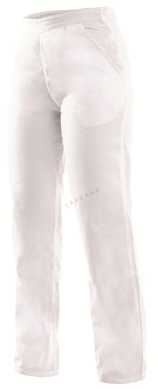 3aff3598a353 DARJA dámske biele nohavice v páse guma