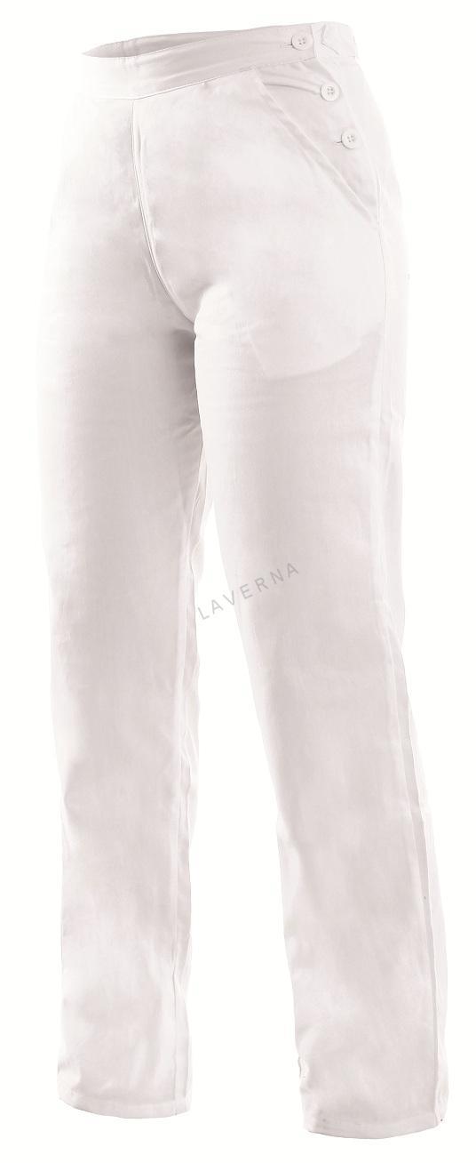 37fdb5990b9f DARJA dámske biele nohavice pevný pás